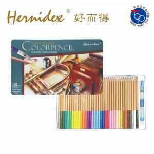 Hernidex c61036tn 300x300 - C610-36TN 高級松木水溶性顏色筆 36色