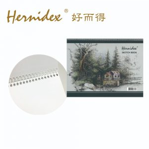Hernidex sketchbook 300x300 - 四開畫簿 (18頁)