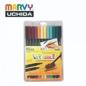 Marvy 1122 12C 300x300 - 1122-12C 12色 兩頭彩繪筆 (維多利亞時期色系)