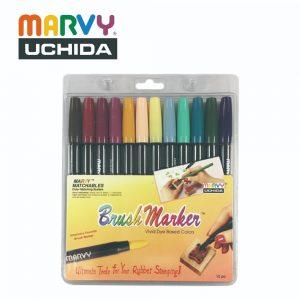 Marvy 1500 12C 300x300 - 1500-12C 12色 毛咀彩繪筆 (維多利亞時期色系)