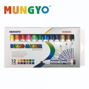 Marvy MA12AP 300x300 - MA-12AP 12色 圓咀膠桿白板筆
