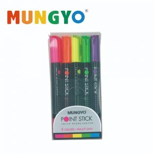 Marvy MSH 5 300x300 - MSH-5P 臘性螢光筆 (5枝庄)