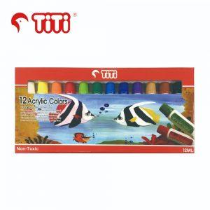 TiTi acryliccolor 12 300x300 - AC-12ML-12 12色 亞加力膠彩