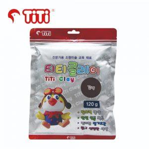 TiTi clay 120g brown 300x300 - TI-CZB-120-BR 輕黏土120G 啡色