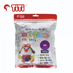 TiTi clay 120g purple 300x300 - TI-CZB-120-PP 輕黏土120G 紫色