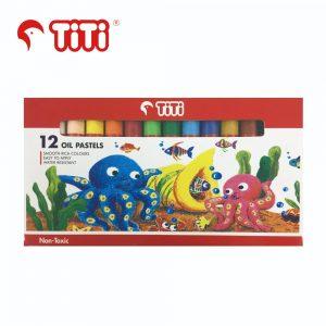 TiTi oilpastel 12 300x300 - TiTi 油粉彩 12色 #PL-12/S