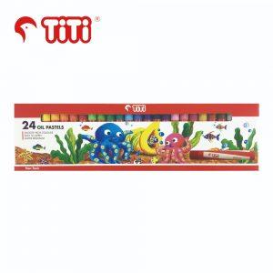 TiTi oilpastel 24thick 300x300 - TiTi 油粉彩 24色 (粗) #PL-24/S