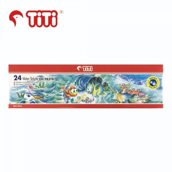 TiTi oilpastel 24watersoluble 600x600 - PL-24WS 24色 水溶性油粉彩