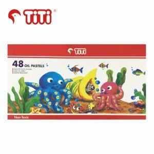TiTi oilpastel 48 300x300 - PL-48/S 48色 油粉彩