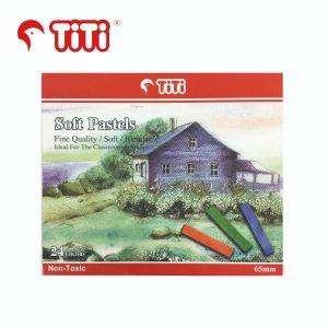 TiTi softpastel 24 300x300 - TiTi 乾粉彩 24色 #SP-65/24