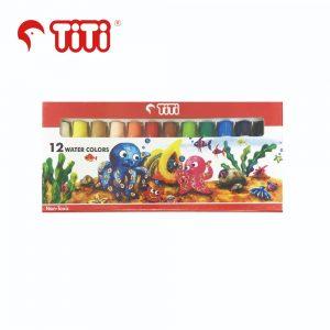 TiTi watercolor 12 300x300 - WC-6ML-12 12色 水彩