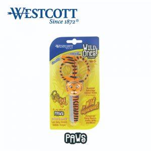 Westcott 14412 paws 300x300 - 14412 WILD ONES (PAWS) 老虎兒童剪