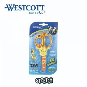 Westcott 14415 stretch 300x300 - 14415 WILD ONES (STRETCH) 長頸鹿兒童剪